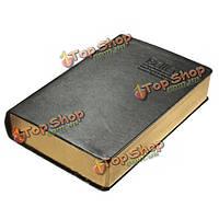 Классический ретро кожи крышки ноутбука журнал дневник sketchbook толстые пустых страниц