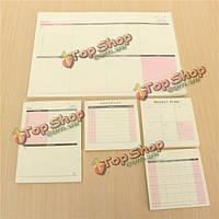 День в неделю в месяц График план записная книжка памятки офис кабинетное исследование