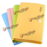 Многоцветный файлов папки офисные документы поступления счета держателя организатор сумка карты