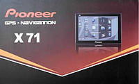 "GPS навигатор Pioneer X71 (7"")"