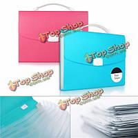 Расширяет окно организатор файла документов формата А4 папки бумаги Foolscap случай бумажника
