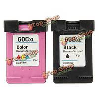 Черные и цветные картриджи с чернилами для HP60 60xl для DJ d2530 / d2560 / f4280 / C4600 / Photosmart C4680 принтер