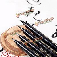 Рукопись каллиграфии Shodo пера кистью чернила для письма рисунок может добавить чернила