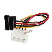 15 контактов Жесткий диск адаптер питания кабель провод провода SATA 5.25-дюймовых жестких дисков 4 контакта в