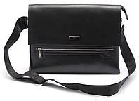 Классная мужская черная сумка POLO art. 6754-6, фото 1
