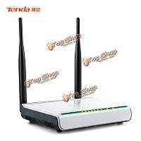Английский frimwaretenda w308r беспроводной n300 домашний маршрутизатор 4 порта струйка reapter QoS брандмауэр VPN