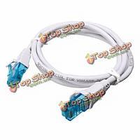 Сетевой кабель ПВХ материал охраны окружающей среды RJ45 Конвенция VAP-A07 cat5 1 / 1.5 / 3/5 / 10m