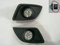 Противотуманные фары Ford Fiesta 2005-2008 LED (комплект - 2шт)