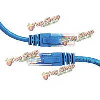 15м 50 футов cat5 категории 5E разъем RJ45 локальной сети Ethernet сетевой кабель