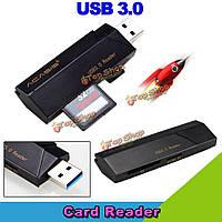 Acasis is001 высокоскоростной USB3.0 сд Мирко SD TF для чтения карт многонациональной функции