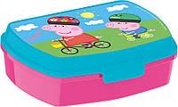 Коробка для бутербродов Свинка Пеппа