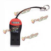 USB 2.0 для SDHC карт памяти Micro-SD T-вспышки ТС м2 карты памяти читателя