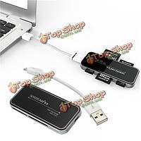 Multi читатель высокоскоростной карты памяти SDHC Micro SD TF м2 MS Pro USB 2.0