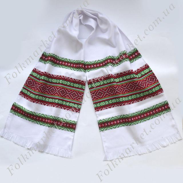 Украинский рушник с вышивкой