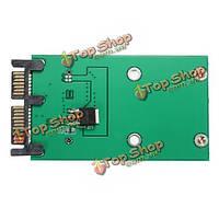 3x5см до 1.8 SSD-дюймов микроSATA Адаптер конвертера карты SATA мини-PCIe е PCI м