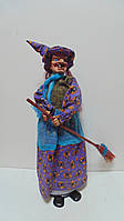 Кукла Баба-яга декоративная высота 55 см