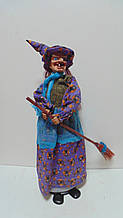 Лялька Баба-яга декоративна висота 55 см