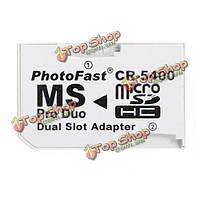 Карта памяти двойной слот адаптер микро-SD TF для MS про дуэт