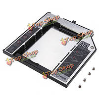 2-й HDD 9.5мм кэдди жесткий диск для ThinkPad T400 W500 SATA 2.5-дюймов