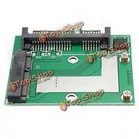 III 6Gbps адаптер конвертера карты модуля платыSATA SSD до 2.5-дюйма SATA мини-PCI-E м
