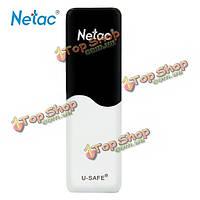 Флешка с защитой от записи 16Гб USB 2.0 Netac U235