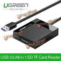 UGreen ВСЕ в 1 USB 3.0 Устройство чтения смарт-мульти карт памяти Micro SD адаптер TF карт CF мс карты