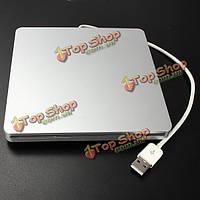 Внешнее место - в CD DVD usb rw горелка DVD водителя для MacBook ноутбука
