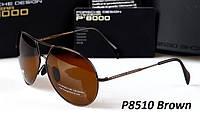 Окуляри Porsche P8510 (Polarized) коричневі, фото 1