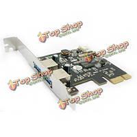 PCI-E к USB3.0 2ports чипсет контроллера PCI: с помощью vl801