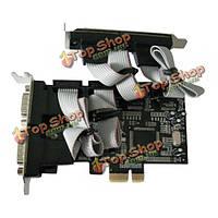 Mcs9901 PCI-E 4с контроллер карты черный совместимый с PCI Express Base спецификации пересмотра 1.0А