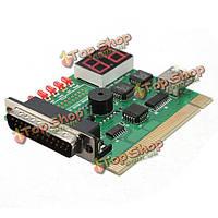 2 значное USB для шины PCI с LPT материнская плата диагностическая карта анализатор тест