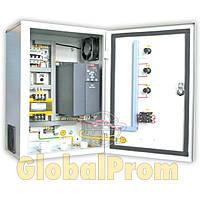 Станция управления и защиты с частотным преобразователем Каскад-ПЧ-Оптима