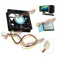 12v внутренний случай настольный компьютер охлаждения а Cooler Master 6см бесшумный вентилятор