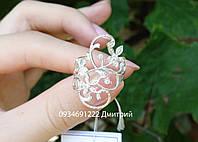Серебряное кольцо Чарующие цветочки