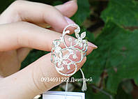 Серебряное кольцо Чарующие цветочки, фото 1