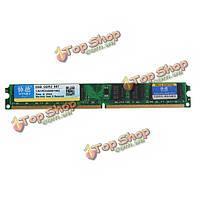 Xiede 2Гб DDR2 667МГц PC2 5300 памяти DIмм 240pin для AMD чипсет материнской платы настольного компьютера память ОЗУ