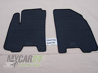 Резиновые ковры в салон перед. Chevrolet Lacetti 04- (CLASIC) кт-2 шт.