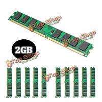 10шт 2Гб PC2-6400 240pin DDR2-800МГц DIмм оперативной памяти материнской платы AMD