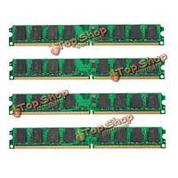 4шт 2Гб PC2-6400 240pin DDR2-800МГц DIмм оперативной памяти материнской платы AMD