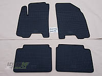 Резиновые ковры в салон ZAZ Vida 12- (LUX) кт-4 шт.