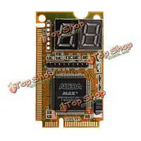 3в1 мини-PCI разъем PCI-е цнд ПК анализатор диагностический тестер открытка