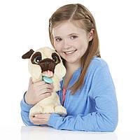 Интерактивный игривый щенок Мопс FurReal Friends от Hasbro
