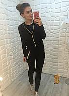 Женский спортивный костюм из двухнити