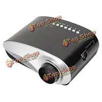 Проектор домашний кинотеатр Rigal 802 Mini ЖК-дисплей 480x320 VGA 1080p