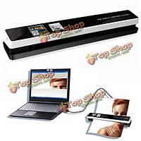 Сканер автоматической подачи бумаги портативный 1200dpi Tsn480 HD