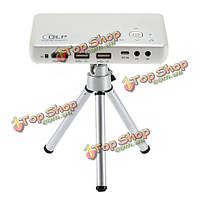 Gp1s DLP 1080p HD LED портативный проектор HDMI USB AV сд домашний кинотеатр видеопроектор