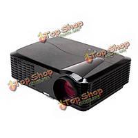 Ригаль-е-806B HD 1080p LED портативный проектор 1280x800 2800 люменов телевизор HDMI VGA AV домашний кинотеатр
