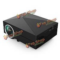 беспроводной проектор портативный Wi-Fi 1080p 1000lm 800x480 Gm60А LCD