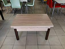 Кухонный стол трансформер Флай Fn, дуб сонома, фото 3