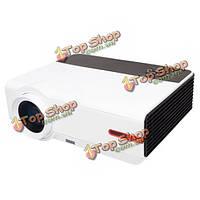 Ригаль 808A LCD Andriod 4.4 WiFi 1280x800 3200 люменов 1080p HD LED проектор 3d домашний кинотеатр ес плагин